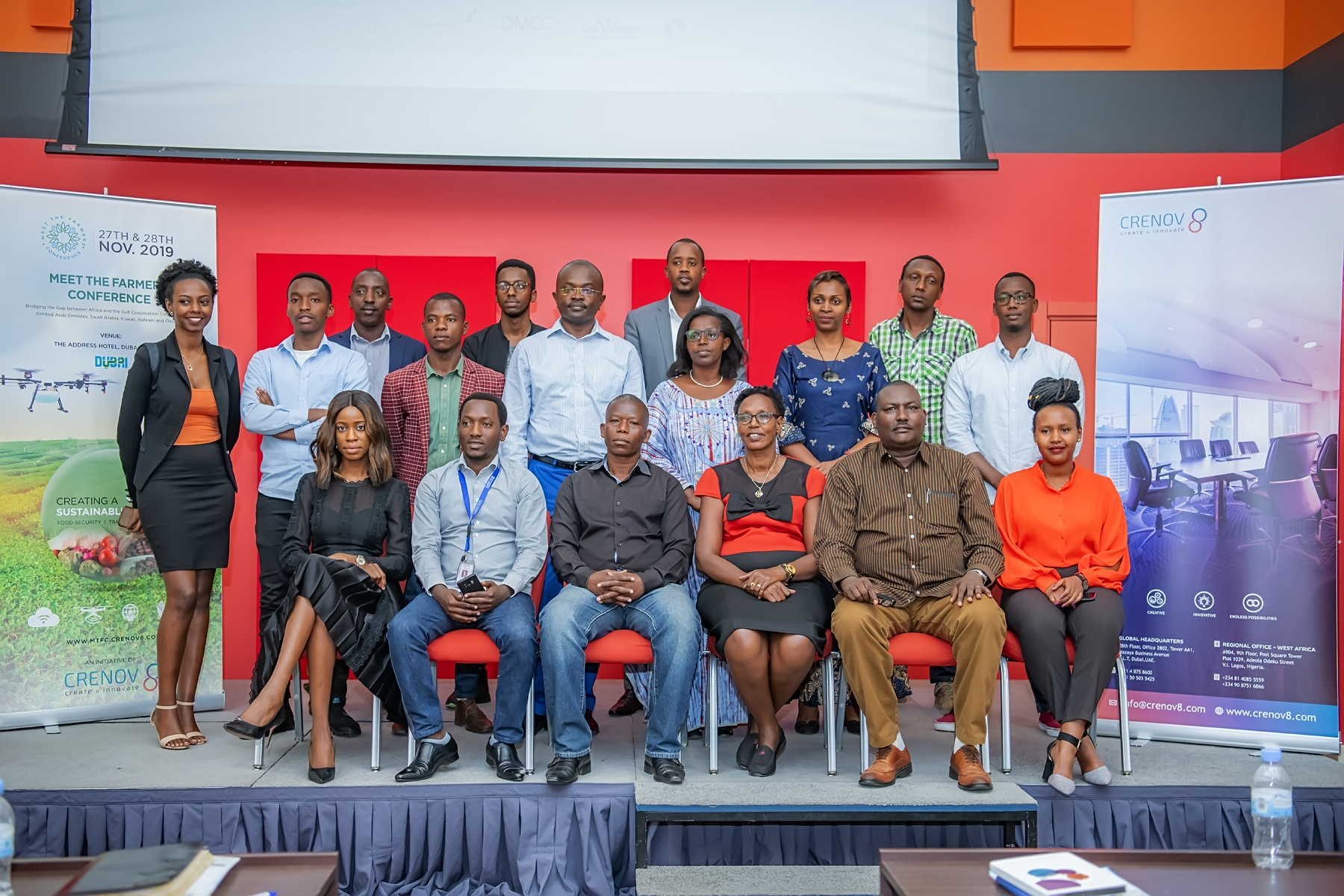 Crenov8 Organizes Media Launch Event for Meet the Farmers Conference 2019 in Rwanda