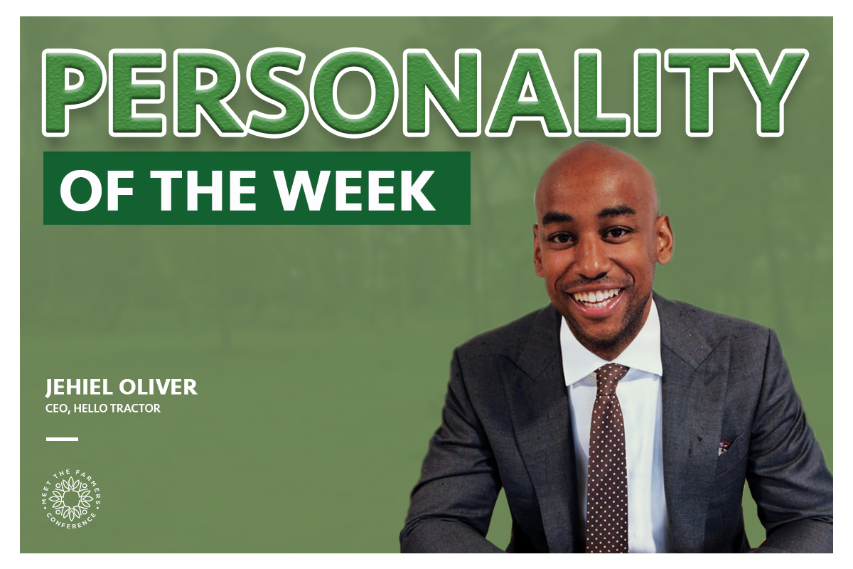 Personality of the Week: Jehiel Oliver