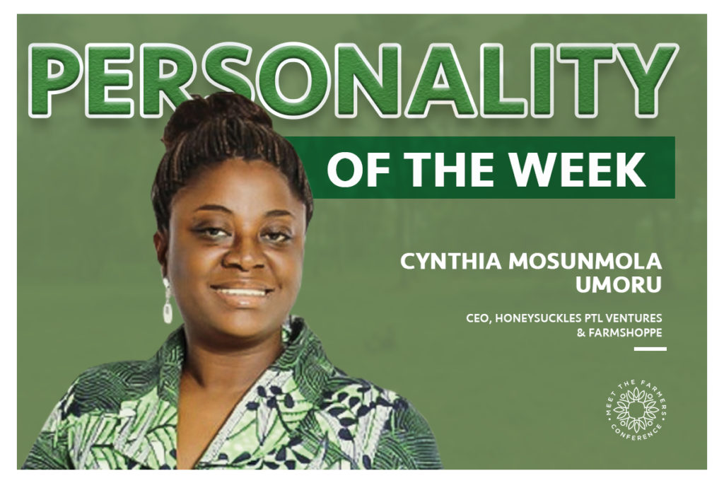 Personality of the Week: Cynthia Mosunmola Umoru